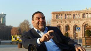 Ruben Vardanyan, cofondateur de 100 Lives, à Erevan en Arménie.